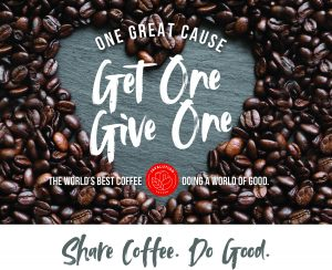 Go Go Coffee Promo - Share Coffee. Do Good.