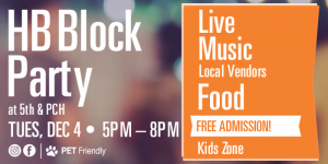 HB Block Party @ 5th & PCH